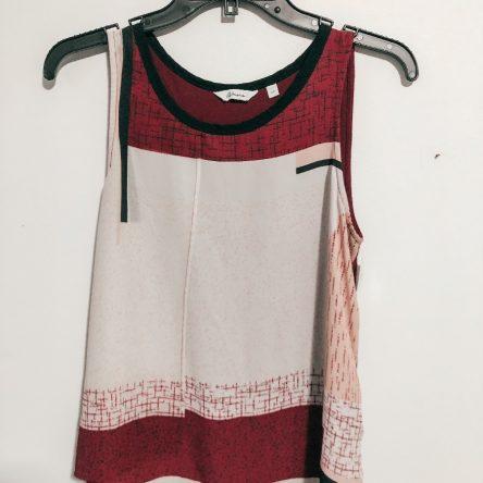 Reitmans Printed Sleeveless Top – Size Small