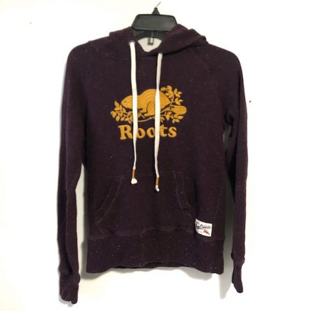 Roots Maroon Hoodie – Size S