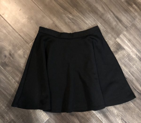 Urban Planet Black Gathered Circle Skirt – Size M