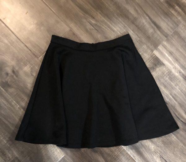 Urban Planet Black Gathered Circle Skirt – Size M